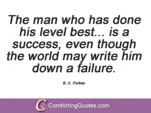 Quotes By B. C. Forbes