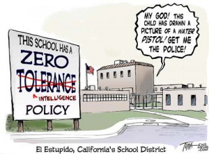 zero tolerance over reactions credit source o ne of the policies that ...