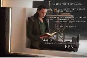 "about Magic…"" – Loki motivational inspirational love life quotes ..."