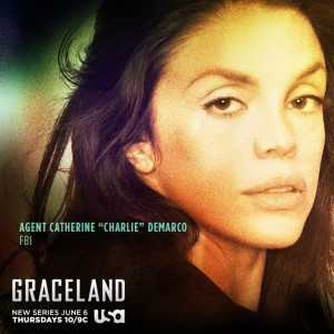 Vanessa Ferlito Talks Her Character, Charlie on Graceland and ...