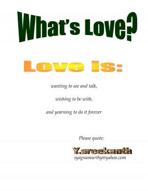Definition True Love Quotes