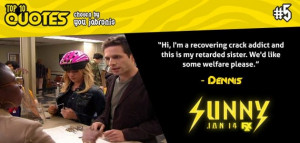 Filed Under: It's Always Sunny In Philadelphia Category: Lists , TV