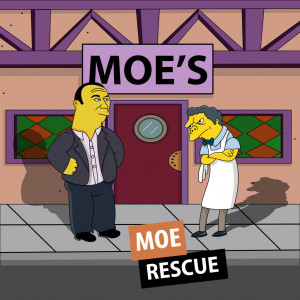 Moe Rescue (The Simpsons and Bar Rescue) by 4and4