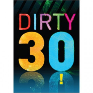 Diva Birthday Party on Funny 30th Birthday Card Dirty 30