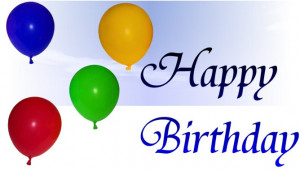Wishing my nephew a happy birthday