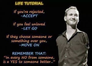 Life tutorial from nick vujicic: Nick Vujicic, Life Quotes, Food For ...