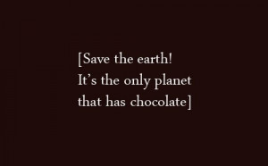 chocolate, earth