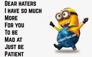 Funny Minion Pictures With Quotes