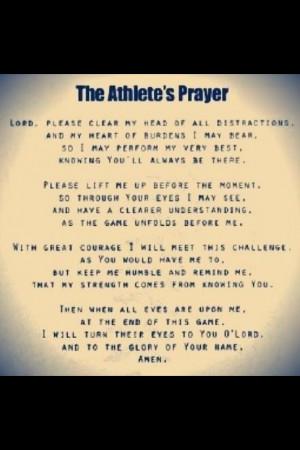 athletes #softball #prayer