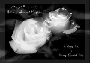 wishing happy married life