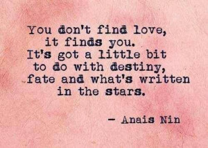 Quote by Anais Nin / tumbler That Girl