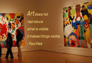 Artist Quotes And Sayings Art quote: art does not