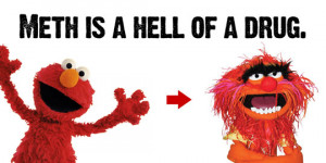 Funny photos funny elmo muppets drugs