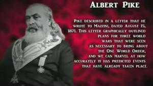 Albert Pike plan for NWO