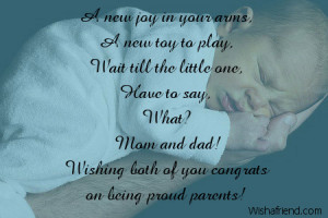 new joy in your arms a new toy to play wait till the little one have ...