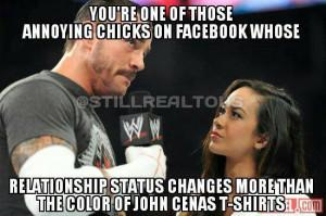 CM Punk and AJ Lee Wedding