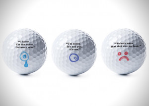 Callaway Self Deprecating Golf Balls