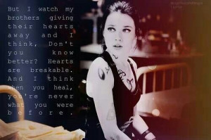 Isabelle lightwood. City of fallen angels quote