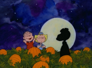 """Clip Arts and pictures of """"It's the Great Pumpkin, Charlie Brown"""":"""