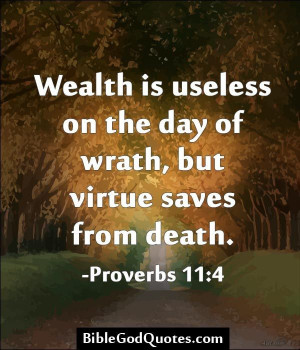 Bible quote of the day best nice sayings wealth