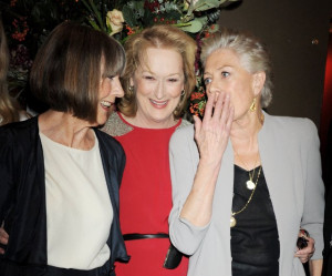 Vanessa Redgrave, Meryl Streep and Eileen Atkins