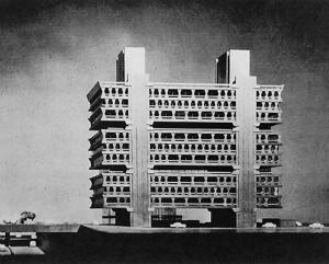 kenzo tange dentsu building headquarters