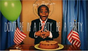 No estés en una fiesta. Sé una fiesta.