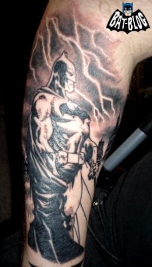 Awesome BATMAN & SCARECROW Tattoo Art Photos