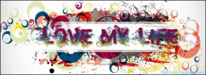 Love, My, Live, Quote, Fb, Timeline, Cover
