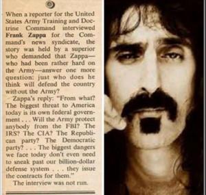 Frank Zappa Quote
