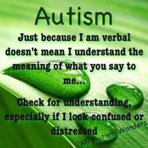 MI Autism Wonders on Facebook