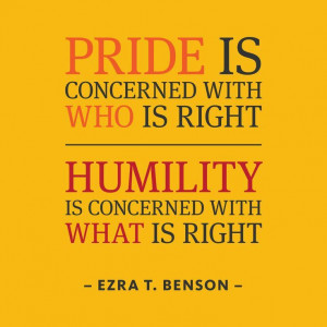 "... with what is right."" (Ezra Taft Benson) #inspiration #quote"