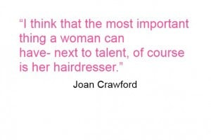 Get involved and send us your good hair quotes…