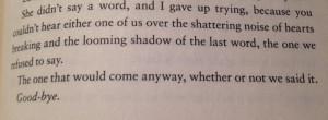 Beautiful creatures quotes. #goodbye broken hearts