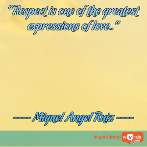 Inspirational Wallpaper Quote by Miguel Angel Ruiz