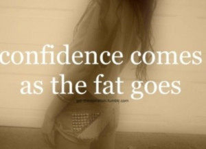 fat #Thinspiration #thin #self-hate