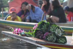 ... . These flowers will be recollected and used as offerings to monks