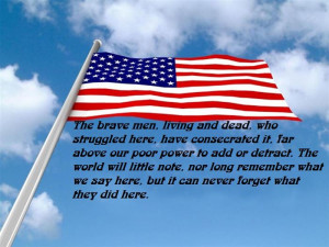 Those Who Deny Freedom To Others Deserve It Not For Themselves.