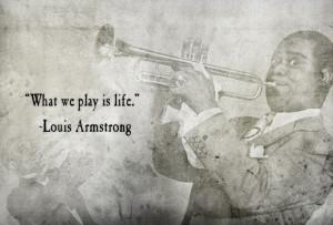 Nach Louis Armstrong habe ich länger gesucht, bis ich jetzt bei ...