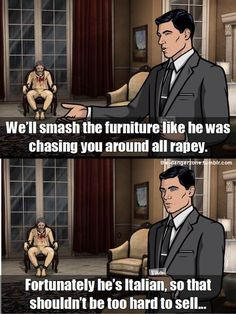... archer funny funny archer tv italian danger zone archer quotes funny