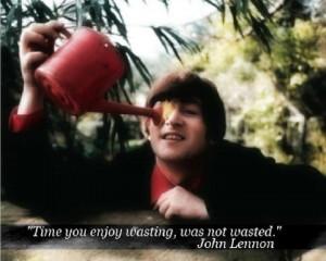 Inspiring quote by John Lennon