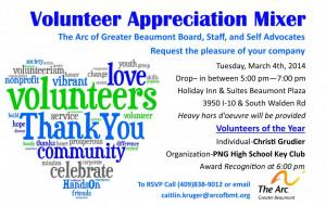 Volunteer Appreciation Mixer