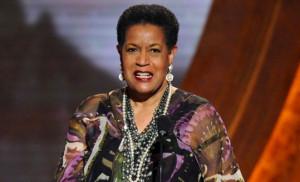 Myrlie Evers-Williams..widow of civil rights leader Medgar Evers ...