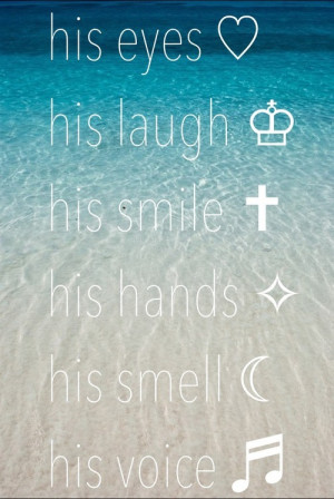 ... his smile # in love # crushing # cute couple # teen quote # love quote