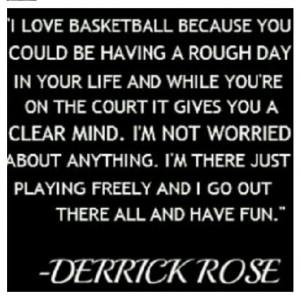 Derrick Rose quote