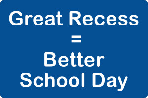Great Recess = a Better School Day, New Research Shows
