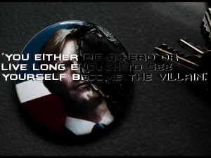 ... harvey dent quotes quote love this batman quote strongenoughtosurvive