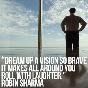 Motivational Quote on Dream by Robin Sharma…