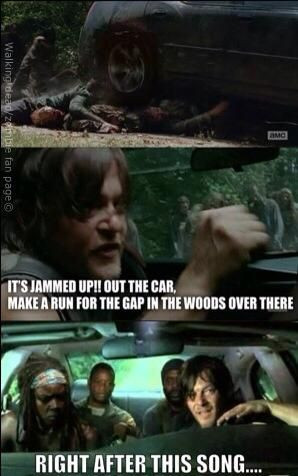 The walking dead memes season 4