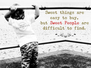 Sweet people...